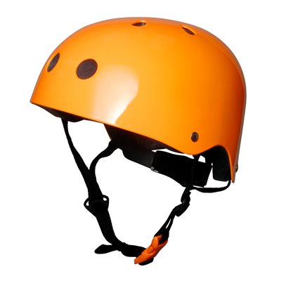 MATTE ORANGE HELMET by Kiddimoto