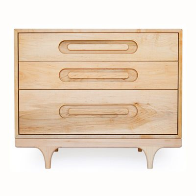 KALON STUDIOS KIDS CARAVAN DRESSER in Raw Maple Finish