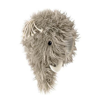 NEO MAMMOTH ANIMAL HEAD WALL DECORATION