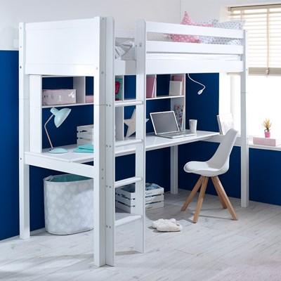 Flexa Nordic Kids High Sleeper 2 In White · Flexa Furniture
