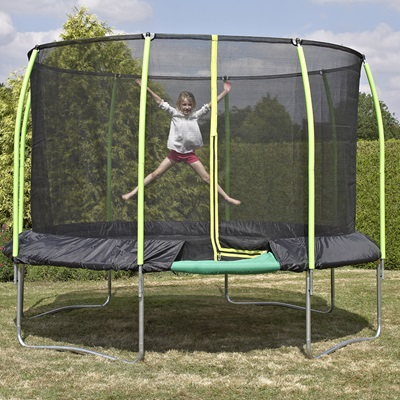 TP TOYS CHALLENGER ROUND TRAMPOLINE with SurroundSafe