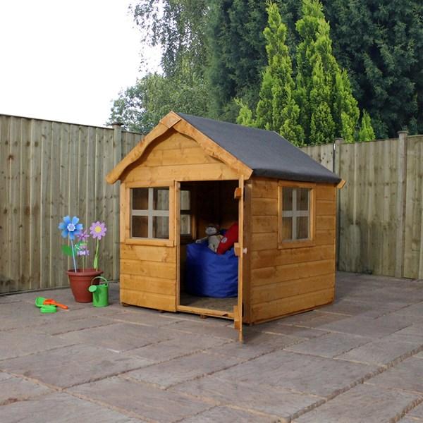 Mercia Kids Pine Snug Playhouse