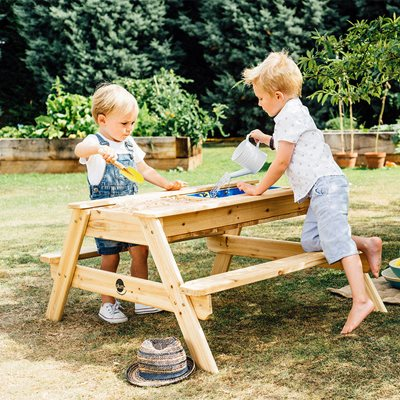 PLUM KID'S SURFSIDE SAND AND WATER PICNIC TABLE