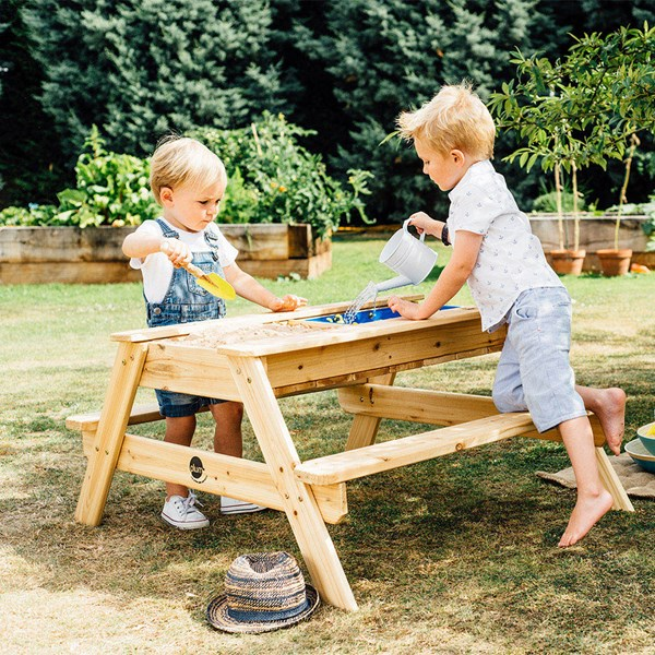 Plum Kid's Sand and Water Picnic Table