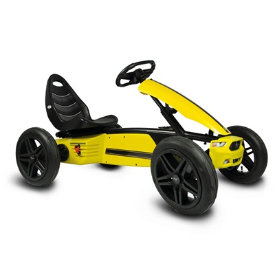KIDS FORD MUSTANG GT ANNIVERSARY EDITION PEDAL GO-KART