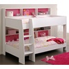 Unusual Tam Tam Kids Bunk Bed In White And Pink