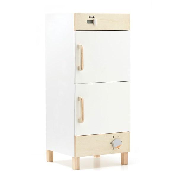 Children's Wooden Fridge Freezer and Toy Box