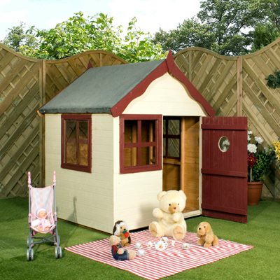 MERCIA KIDS PINE SNUG PLAYHOUSE
