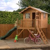 Kids Poppy Playhouse with Slide (optional)