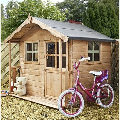 MERCIA KIDS POPPY WOODEN PLAYHOUSE