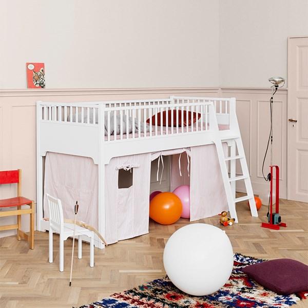 Oliver Furniture White Kids Loft Bed