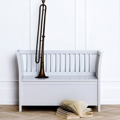 KIDS LUXURY STORAGE BENCH in Grey