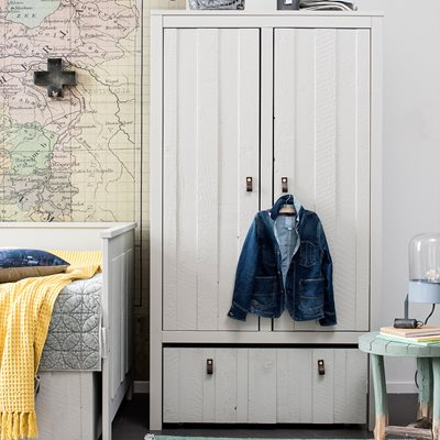 LOFT CHILDREN'S DOUBLE WARDROBE