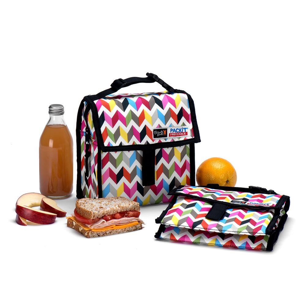 Packit kids freezable cool bag in 39 ziggy 39 design packit cuckooland - Sac lunch box isotherme ...