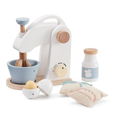 Children's Wooden Toy Food Mixer Set