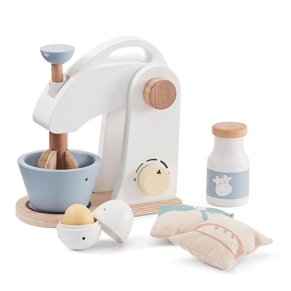 Stupendous Kids Concept Wooden Toy Food Mixer Set Home Interior And Landscaping Ymoonbapapsignezvosmurscom