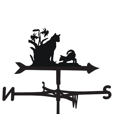 WEATHERVANE in Kittens Design