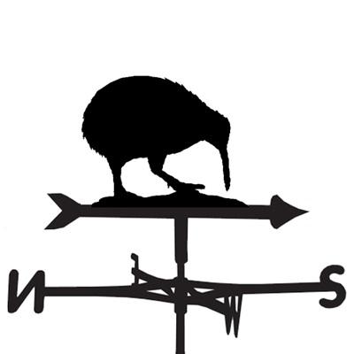 WEATHERVANE in Kiwi Bird Design