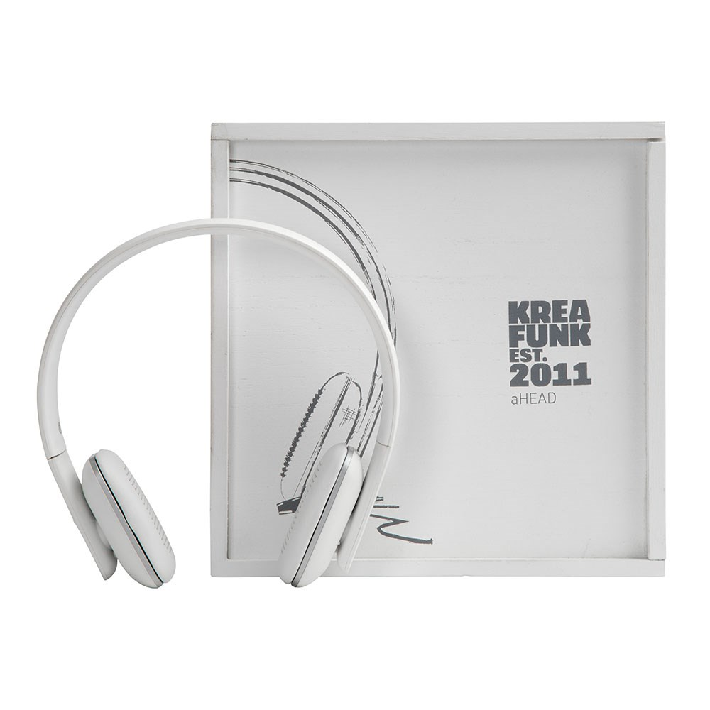 8d51793cfe2 Ahead Bluetooth Headphones White Edition - Kreafunk | Cuckooland