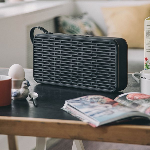 aSound Portable Bluetooth Speaker with Stereo Technology