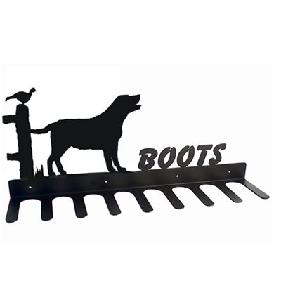 BOOT RACK in Labrador Design