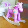 Pink Toddlers Rocking Horse Gift