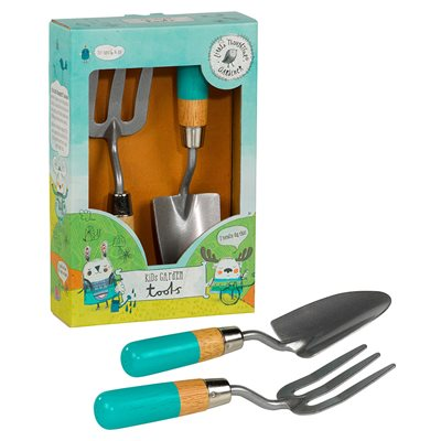 LITTLE THOUGHTFUL GARDENER KIDS FORK & TROWL SET