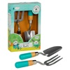Kids Fork & Trowel Set by Little Thoughtful Gardener