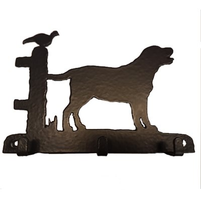 KEY RACK WITH 3 HOOKS in Labrador Design
