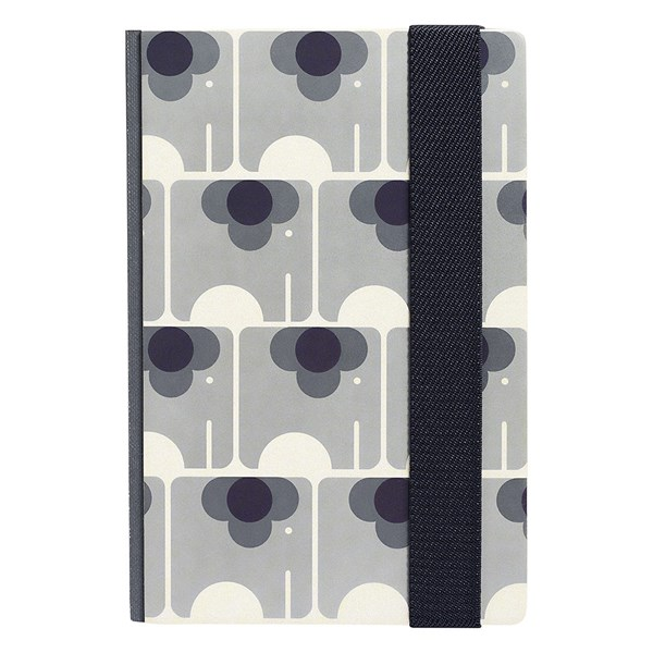 Orla Kiely A5 Notebook in Ela Elephant