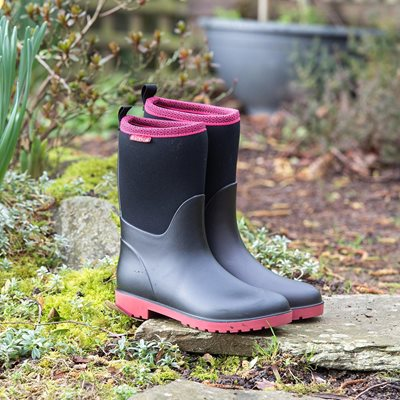 Ladies Candice Muck Boots in Pink