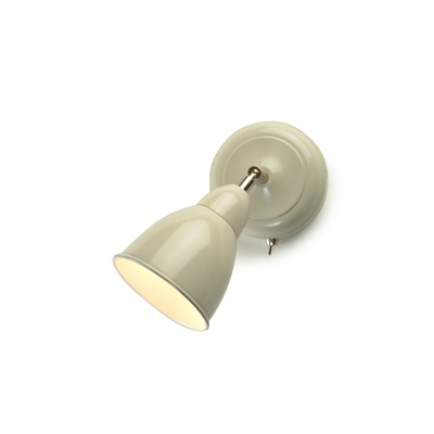 CHISWICK RETRO WALL LIGHT in Clay