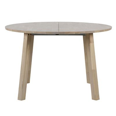 Lange Jan Extending Round Oak Dining Table from 1.2 to 2m by Woood