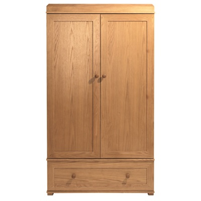 EAST COAST DOUBLE WARDROBE in Oak Langham Design