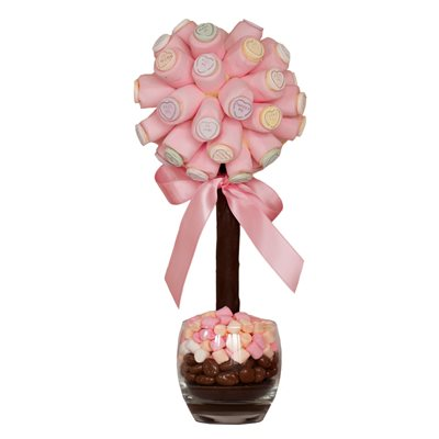 PERSONALISED LOVE HEART SWEET TREE