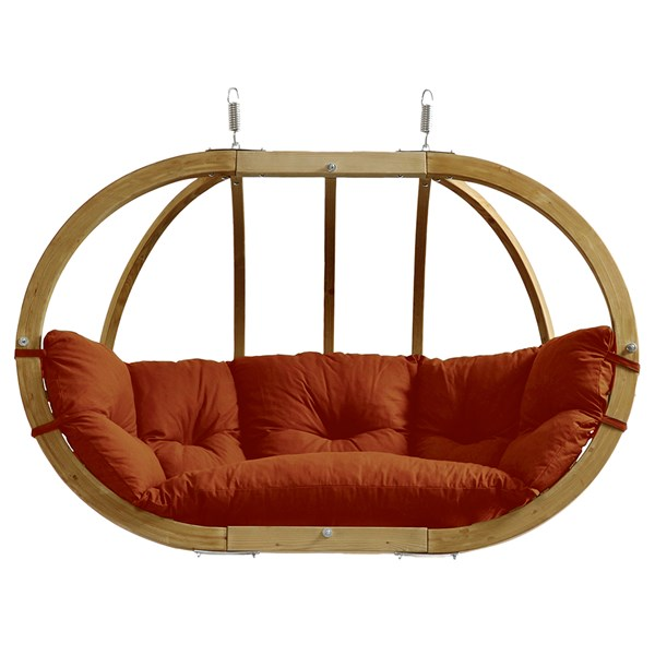 Globo Royal Hanging Chair in Terracotta