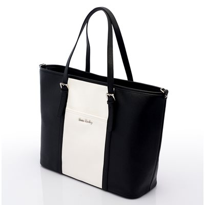 NOVA HARLEY MIAMI CHANGING BAG in Black and White