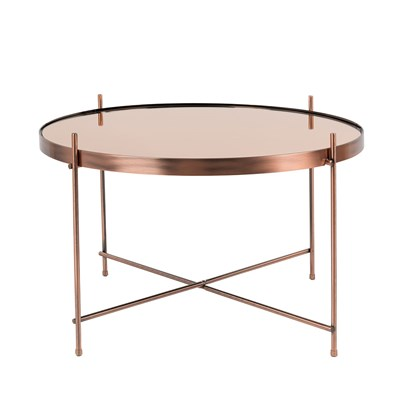 ... Large Copper Side Table ...