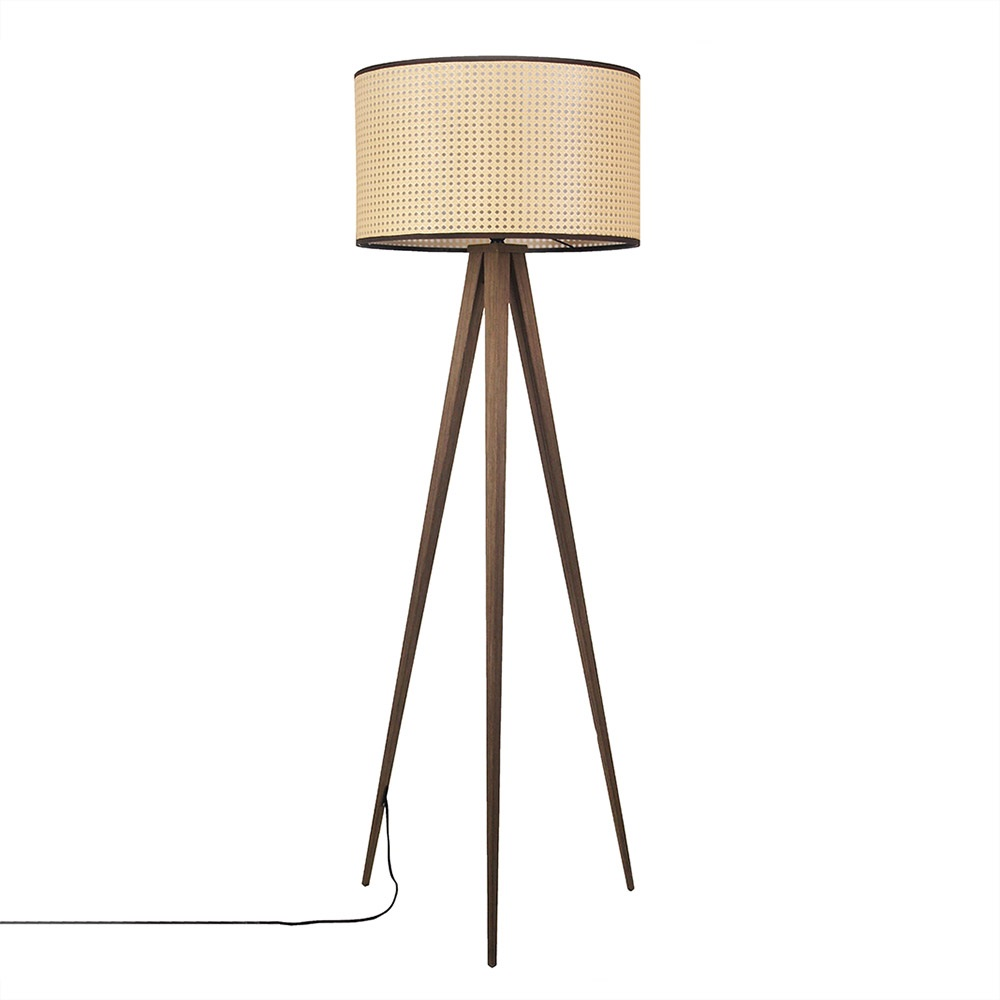 Zuiver Cane Tripod Floor Lamp - Zuiver | Cuckooland