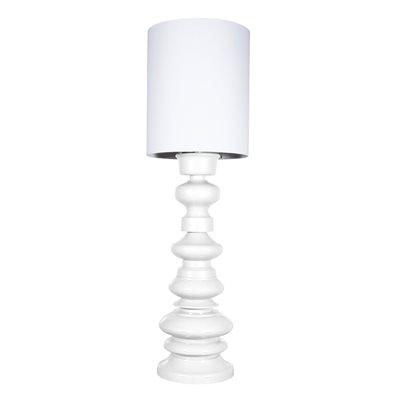 LARGE MODERN FLOOR LAMP in White