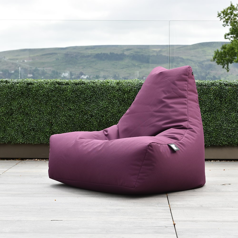 Fabulous Extreme Lounging Mighty B Outdoor Bean Bag In Brown Inzonedesignstudio Interior Chair Design Inzonedesignstudiocom