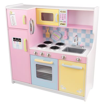 KIDS LARGE PASTEL KITCHEN