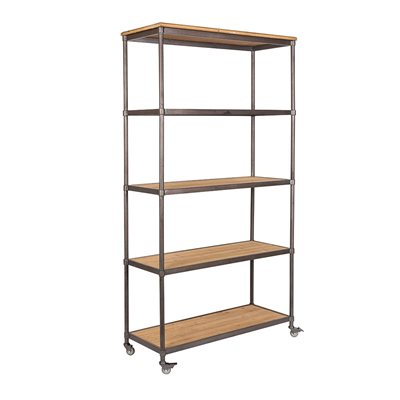 Simon Industrial Shelving Unit with Wheels