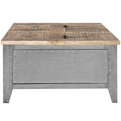 INDUSTRIAL DETROIT Lounge Storage Table