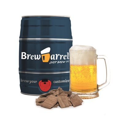 LAGER BEER BREWING KIT in Barrel