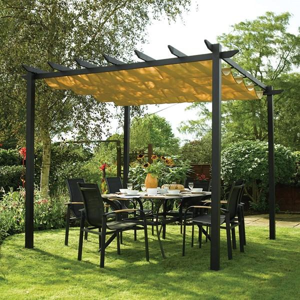 Rowlinson Latina Aluminium Garden Canopy