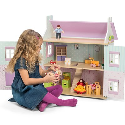 LE TOY VAN LAVENDER DOLL HOUSE