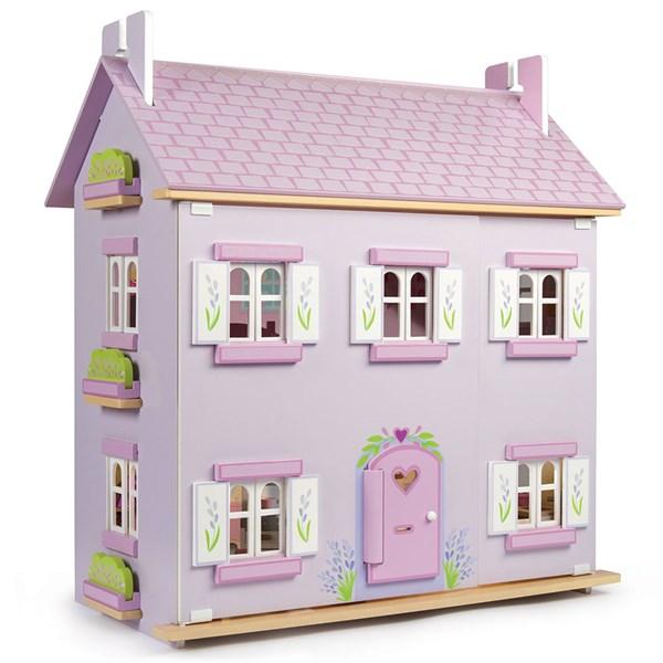 Lavender Painted Dollshouse from Le Toy Van