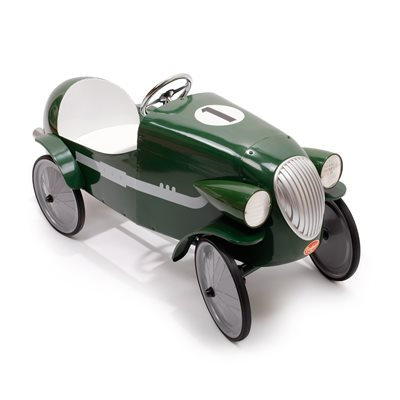 LE MANS GREEN RACING PEDAL CAR by Baghera
