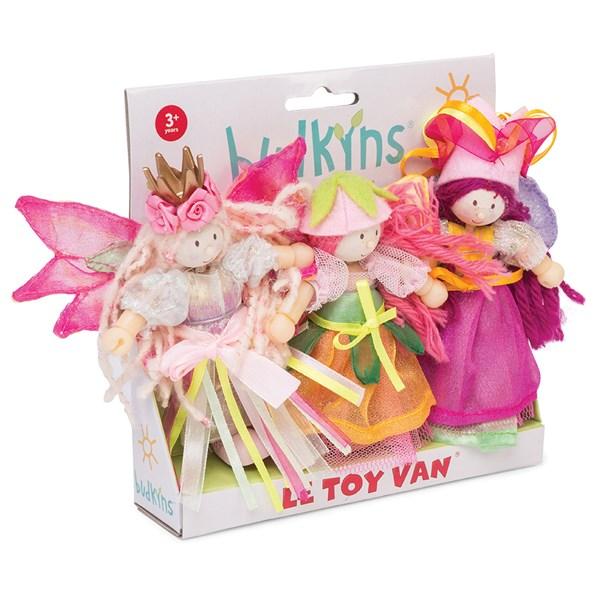 Le Toy Van Budkins Garden Fairies Set